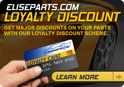 EliseParts.com - Loyalty Discount